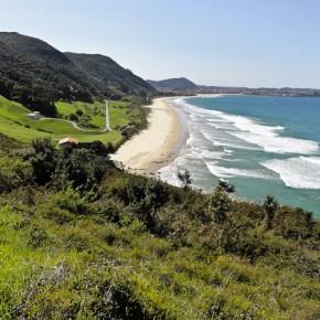 Strand auf dem Weg nach Santander
