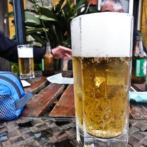 Bier am Abend