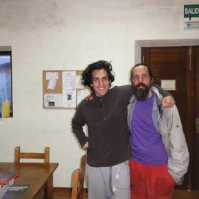 Pablo und ich in La Isla