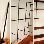 Selbstgebautes Bücherregal